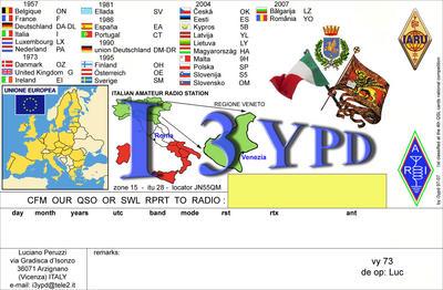 Luciano Peruzzi I3YPD